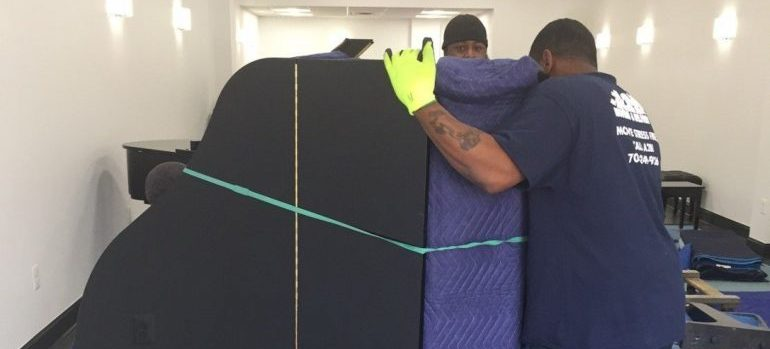 dc piano movers protecting the instrument
