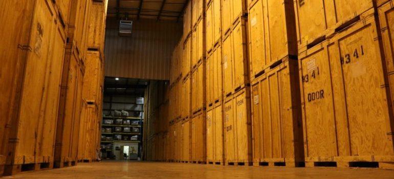 a big storage facility