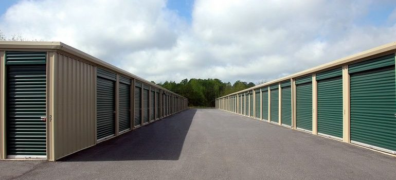 a modern storage units