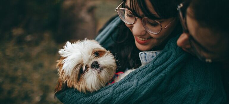 Relocating with pets to Ashburn and taking care of your pet on the moving day by staying close to it