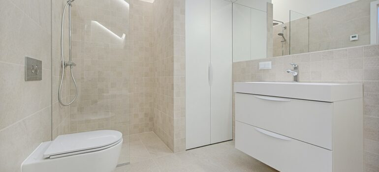 Pay attention to the bathroom when decorating your Bethseda home.