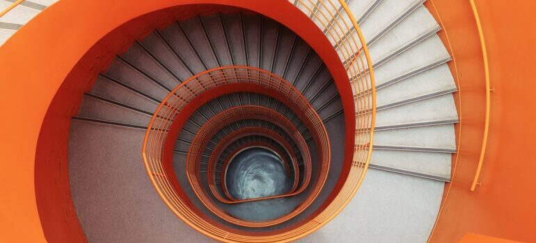 a spinal staircases